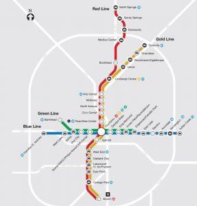 I 85 Collapse Atlanta Map.I 85 Bridge Collapse News Update From Marta Midtown Neighbors