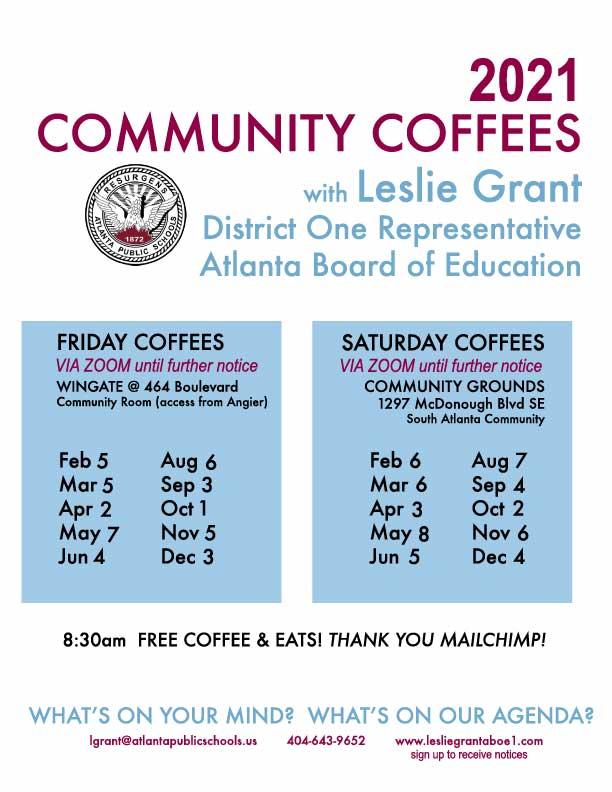 APS Community Coffee